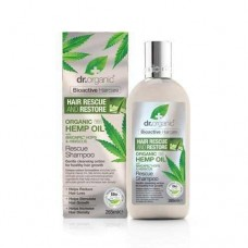 Dr.Organic Kenevir Rescue Saç Canlandırıcı - Onarıcı Tedavi Şampuanı 265 ml.