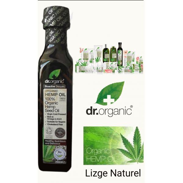 Dr.Organic Kenevir Yağı Saf ve Soğuk Sıkım 150 ml