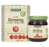 Aksu Vital Arı Sütü Bal Polen Ginsengli Karışım (N10000) 230 gr