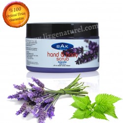 Bak Kozmetik Mineral Care Cream Lavantalı El ve Vücut Scrub 250 ml.