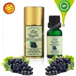 Bak Kozmetik Saf Üzüm Çekirdek Yağı 20 ml.