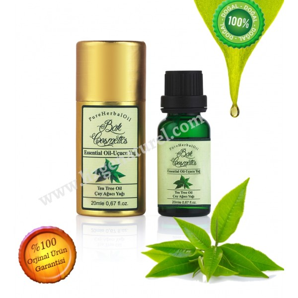 Bak Kozmetik Saf Çay Ağacı Yağı Tea Tree 20 ml.