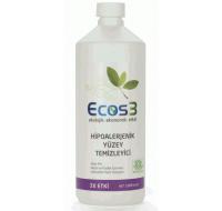 Ecos3 Hipoalerjenik Yüzey Temizleyici 1000 ml