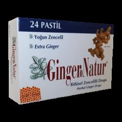 Meksmar Ginger Natur Bitkisel Yoğun Zencefilli Pastil 24 ad